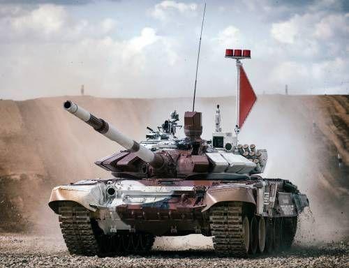 Во вновь созданную 8-ю армию прибыли Т-72Б3 новой модификации » Военное обозрение