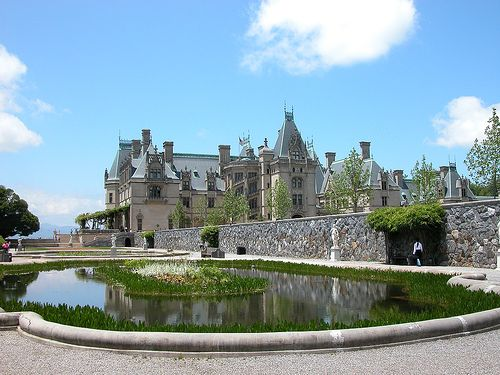 The Biltmore Estate in Asheville, NC is truely grand!