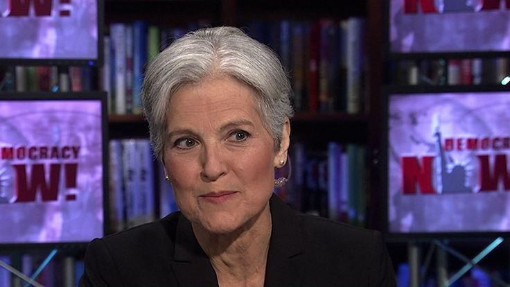 """In a Democracy Now! exclusive, Dr. Jill Stein officially launches her campaign as a Green Party candidate for the 2016 presidential race. """"I have a people-powered campaign,"""" Stein notes. """"I am running with the only national party that does not take corporate funding."""" Stein, a physician and activist who first ran in 2012, outlines her platform. She joins the fray as the race for the Democratic Party nomination heats up. Vermont Senator Bernie Sanders, a self-proclaimed democratic socialist…"""