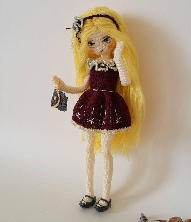 Satıldı #amigurumi #weamiguru #crochet #crochetdoll #10marifet #gurumigram #amigurumiaddict #craft #amigurumis #puppe #handarbeit #festejarcomamor #knittingwithlove #örgüoyuncak #hanimelindenamigurumi #häkeln #haken #forkids #amigurumitoy #crochetart #sctreblemaker #bukebebek