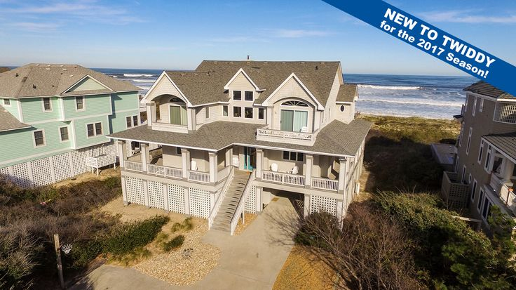Carolina Dream - E122 is an Outer Banks Oceanfront vacation rental in Pine Island Corolla NC that features 6 bedrooms and 5 Full 1 Half bathrooms. This rental has a private pool, a pool table, and wifi among many other amenities. Click here for more.