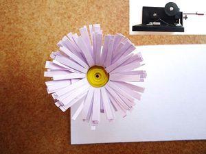 Aprende a realizar las principales figuras para hacer papel filigrana o paper quilling.: Flor en 3D