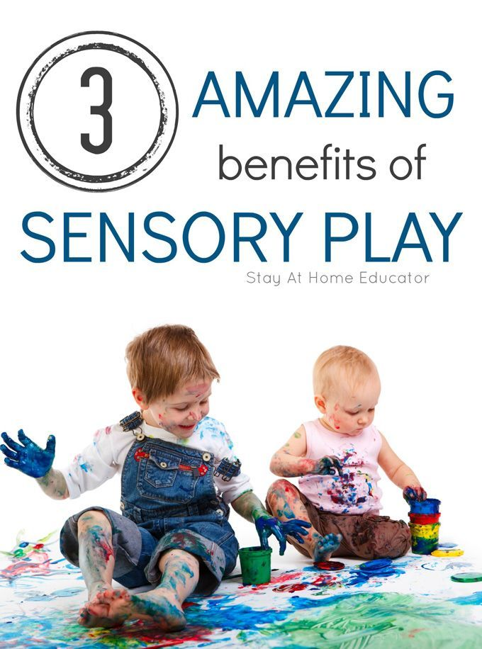 3 Amazing Benefits of Sensory Play - These are huge! Sensory play is so good for kids, and maybe not in ways you might expect!