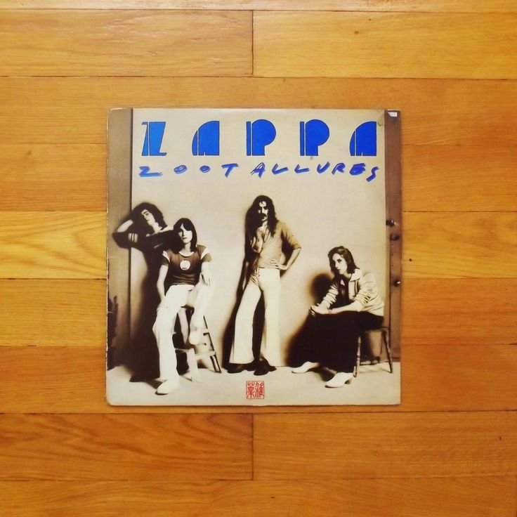 One of my favorit vinyl records # Frank Zappa - Zoot Allures, 1976