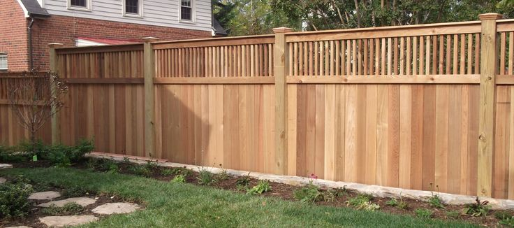 classy pine stockade pressure treated wood fence panel for backyard fence ideas with green grass. Black Bedroom Furniture Sets. Home Design Ideas