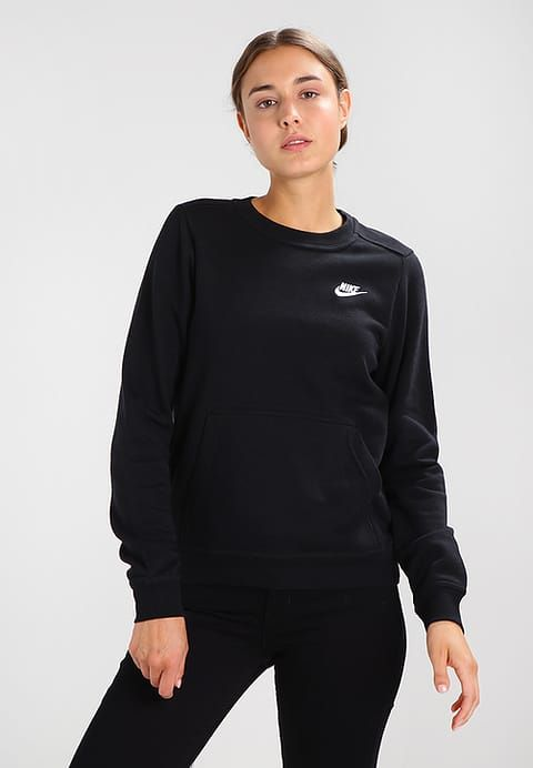 Bestill  Nike Sportswear Genser - black/black for kr 399,00 (27.09.17) med gratis frakt på Zalando.no