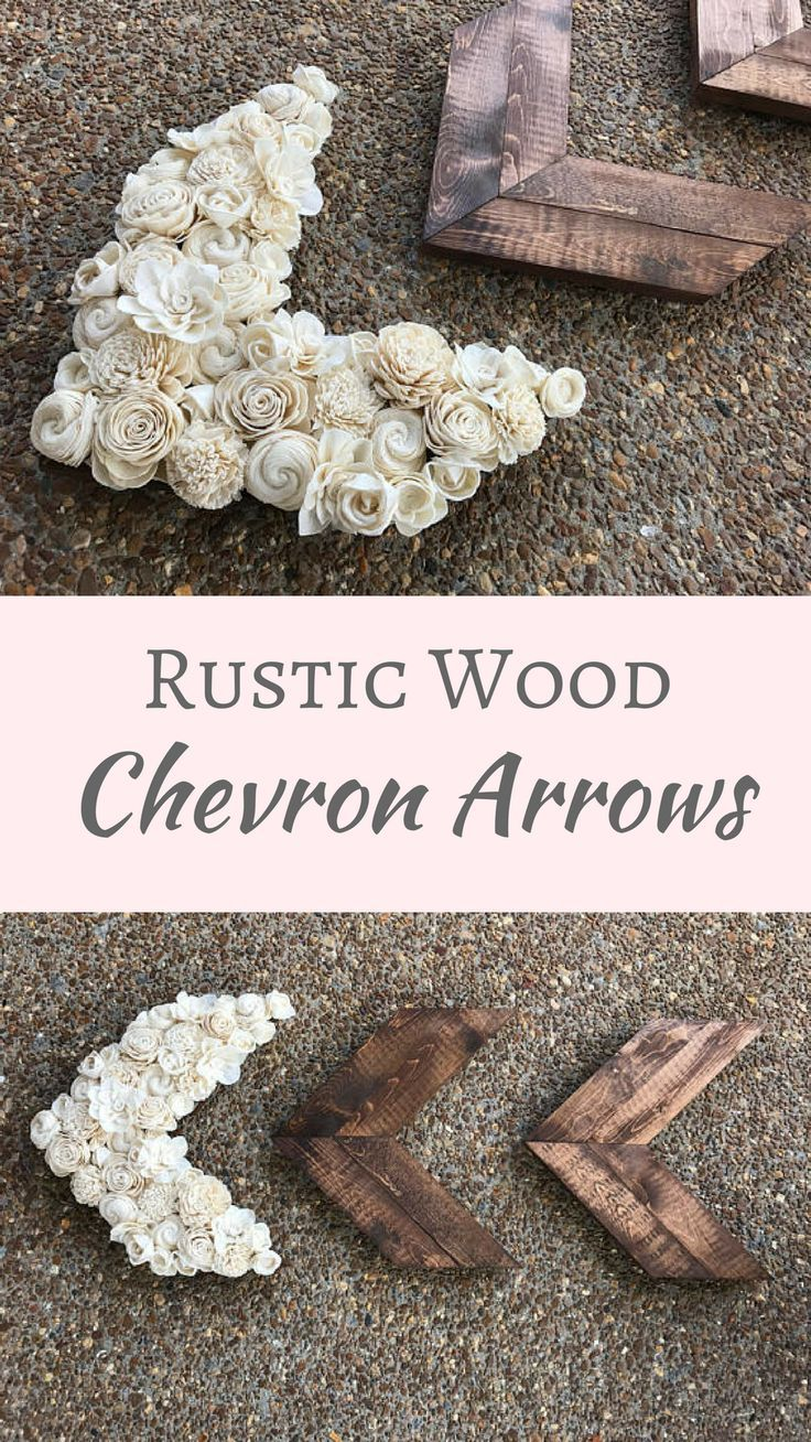 Love these arrows! Super cute for any farmhouse decor, even for a nursery. Our set of 3 wood arrows are the perfect decor piece for your walls to give your home a rustic feel. You will receive 3 wood arrows with one being covered in sola wood flowers. #ru