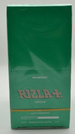 CARTINA RIZLA CORTA VERDE BOX 100 PZ DA 50 FOGLI