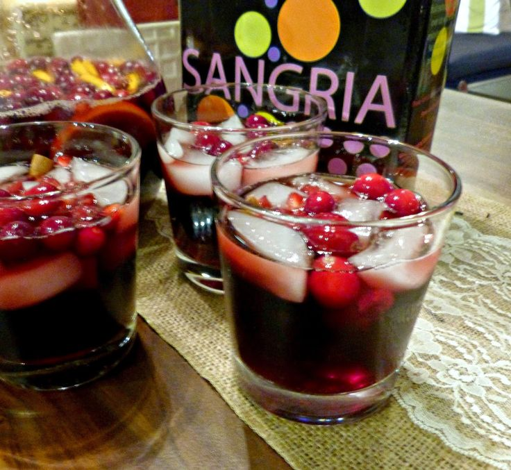 A Squared: Holiday Sangria with Beso Del Sol