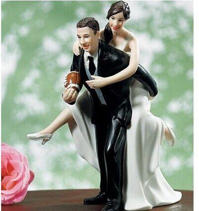 Fútbol Pares juguetones The Look of Love novia y el novio la estatuilla del pastel de bodas para la decoración de la boda bolo párr casamento en Artículos de Fiesta de Casa y Jardín en AliExpress.com | Alibaba Group