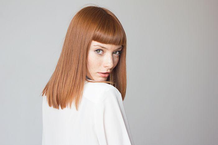 Polaroid por Marcelo Rojas Model Ana Paula Rondan Ginger redhead freckles