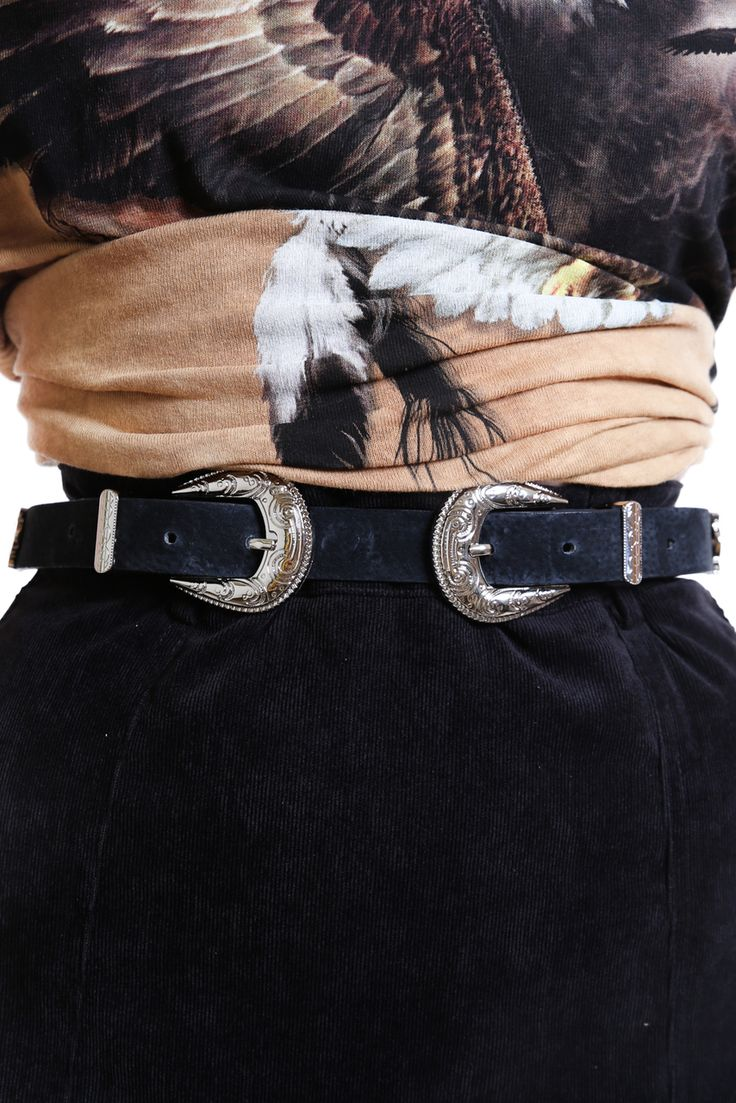 Ryder Double Buckle Belt - Verge Girl: