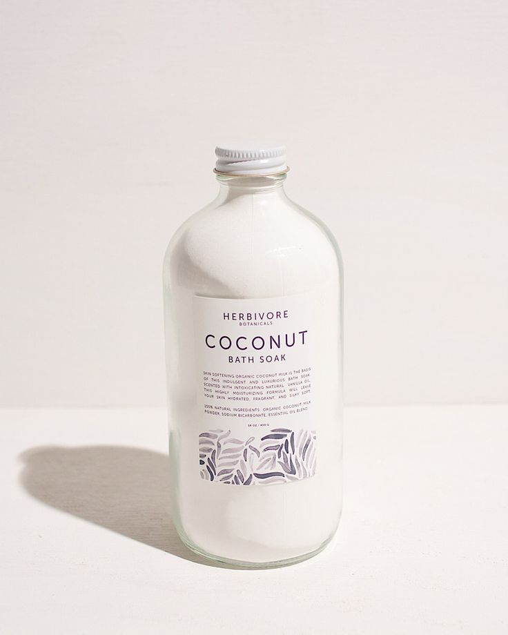 Coconut Milk Bath Soak by Herbivore Botanicals ($32)