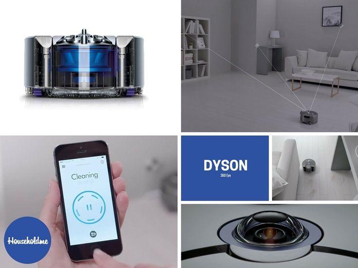 Dyson 360 Eye RB01NB Robot Vacuum Cleaner   Buy on Amazon http://amzn.to/1WAFAwA  #dyson #dysonrobot #robotvacuum #360eye #dyson360 #dysoneye #dysonvacuum #dysontech #robotvacuum #botvac #tanktracks #vacuum #vac