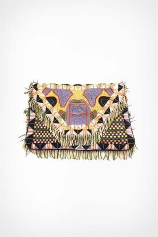 Antik Batik Zack clutch