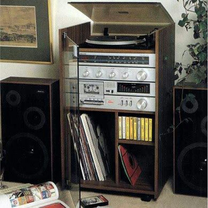 Hifi - This went on ever Sunday morning Loud when my Dad played his music. And then mum and dad would start dancing! Eew