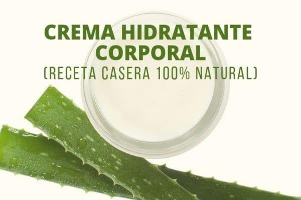 Crema Hidratante Corporal Receta Casera Con Aloe Vera En 2020