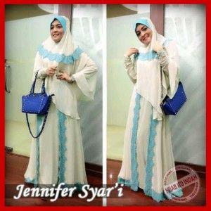 Baju Muslim Syari Modern Jennifer