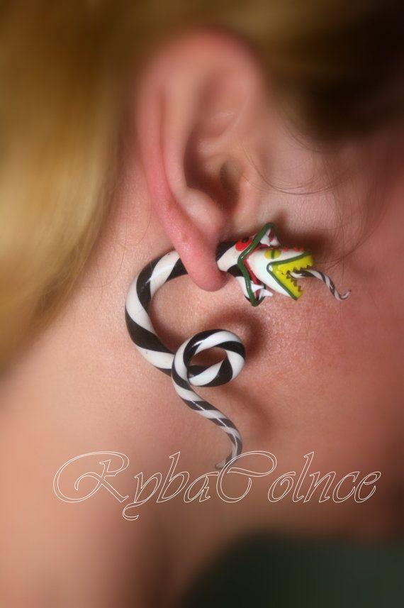 Gefälschte Ohr Tentakel Messgeräte - Beetlejuice, Sandworm