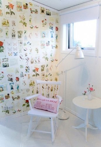 1000 images about patchwork paper furniture walls and for Furniture decoration paper