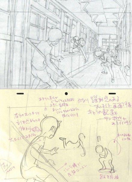 #アニメ私塾搬运#这次是学校走廊的主题: