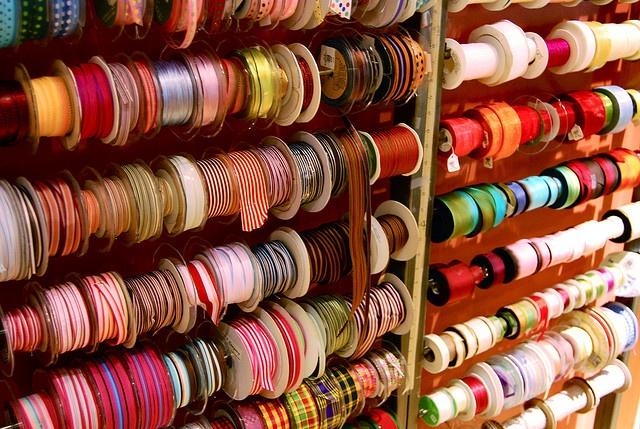 ribbon...ribbon...ribbon...: Ribbons Bows Trims, Colorful Candy, Lovely Ribbons Xxx, Craftroom, Photo, Entire Wall
