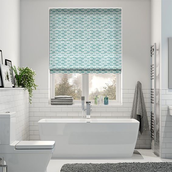 60 best blinds bathroom images on pinterest rollers bathroom ideas and blue roller blinds - Bathroom shades waterproof ...