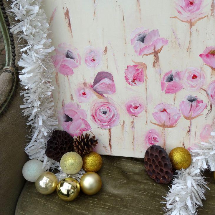 Te koop handgemaakte olieverf schilderijen en dienbladen en zelfgemaakte linnen tassen www.diensdesign.com