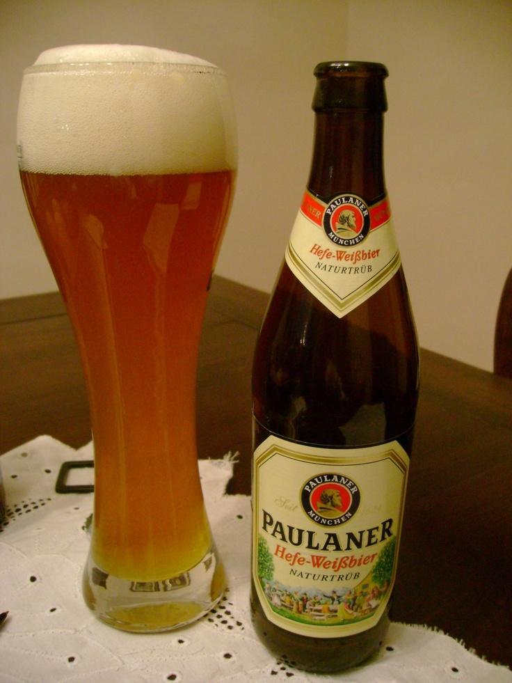 Germany - Paulaner Weiße beer!!!!!!! Yumm