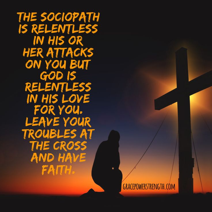 The Sociopath Wants You To Suffer To Destruction: God And Unanswered Prayers