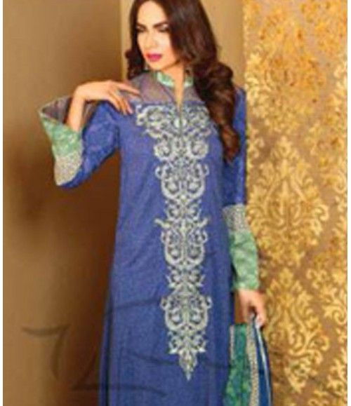Lala Classic Embroidered Linen Suits collection LLE_01B