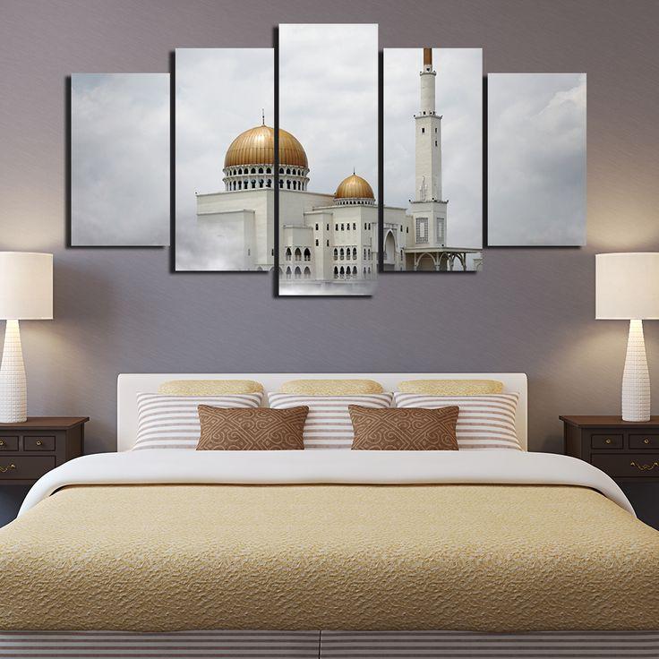 Les 25 meilleures id es concernant art de mur de jardin for Decoration murale islamique