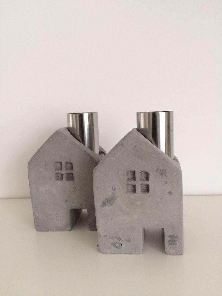 Huisje van beton