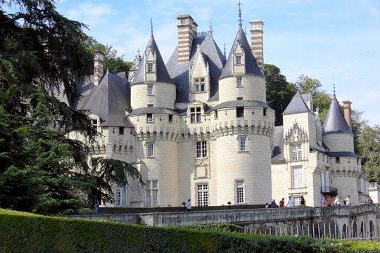 Le château d'Ussé, France                                                                                                                                                                                 Plus