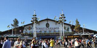 The entrance to the Schottenhamel-Tent., Copyright Oktoberfest.de