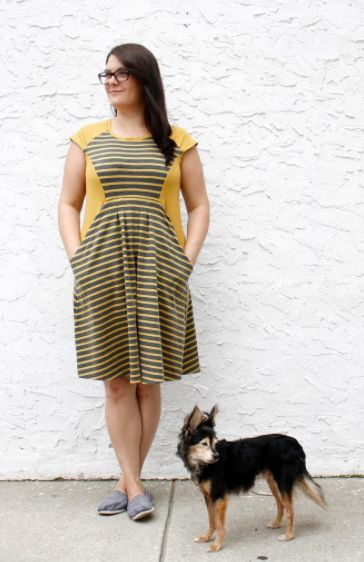 Rachel's Zadie dress - sewing pattern by Tilly and the Buttons