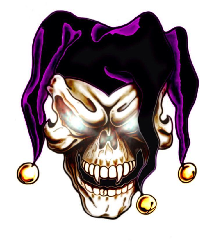 35 best tattoo images on Pinterest | Evil clowns, Jokers ...