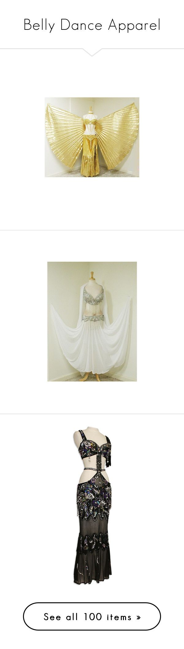 """Belly Dance Apparel"" by blasted-blast-ended-skrewts ❤ liked on Polyvore featuring dance costumes, dresses, costumes, belly dancing, costum, belly dancer halloween costume, belly dancer costume, gown, belly dance and egyptian costumes"