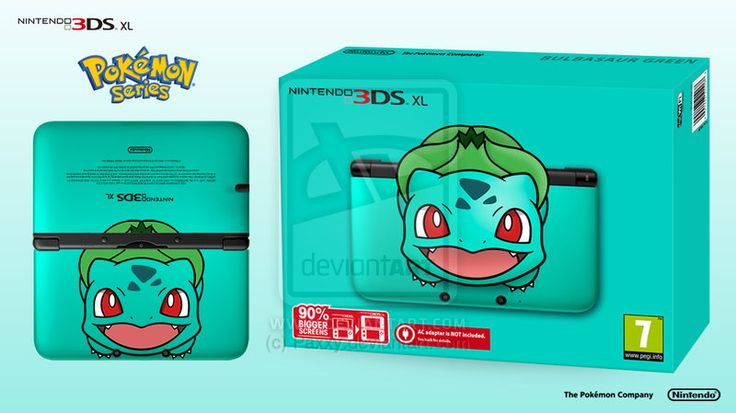 This has to be done RIGHT NOW! Nintendo 3DS XL Pokemon Series - Bulbasaur Edition by Paxxy