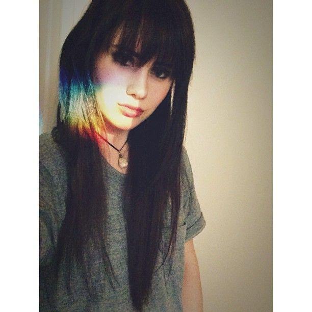 Fairy powers! rainbow sunlight gelfling, black hair & bangs
