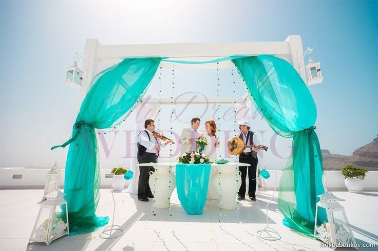 Dana Villas - Santorini Olga and Andrey 29.05.13 Wedding planner: http://mydw.ru