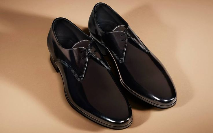 Refined lace-up #men #shoes from #Burberry for #AW13