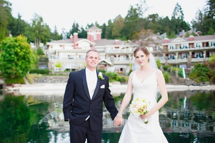 """""""Thank you to the amazing and wonderful staff at Poet's Cove for making our wedding day extra special! We have some incredible memories to look back on, what a beautiful place"""" Emery Trescott"""