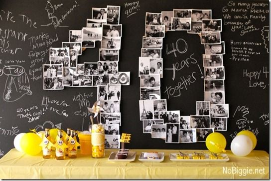14 best 35th wedding anniversary ideas images on pinterest for 35th birthday decoration ideas