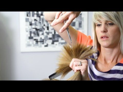 How To Do A Layered Haircut Box Layers Diy Peppermint