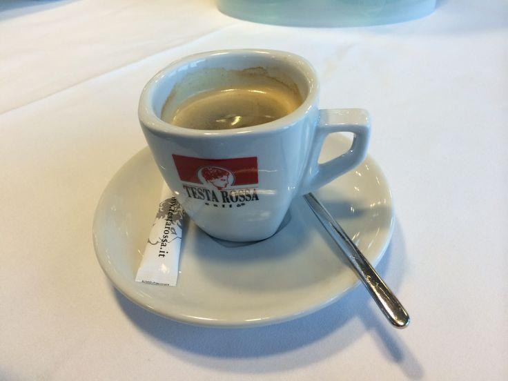 Kahvia laivalla Mainauhin 2014.