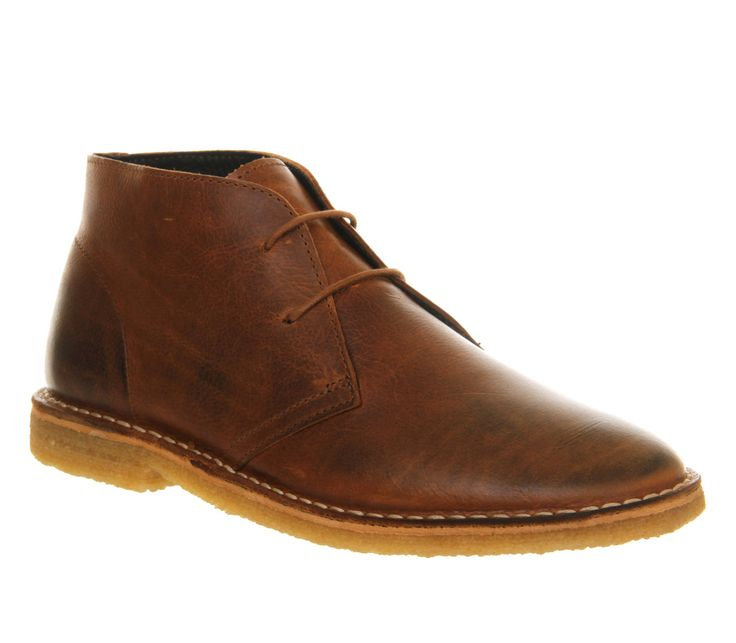 Buy Tan Leather Ask the Missus Cookie Desert Boots from OFFICE.co.uk.