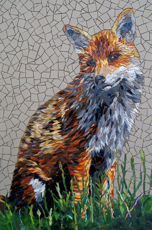 手机壳定制buy air jordans online legit The Red Fox    Rachel Evans Mosaics    Glass and unglazed ceramic tiles   x  cm Not including frame