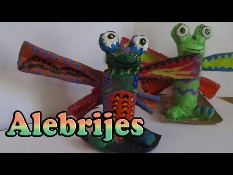 Alebrije pez muy facil | manualidades con niños | manualidades de verano - YouTube