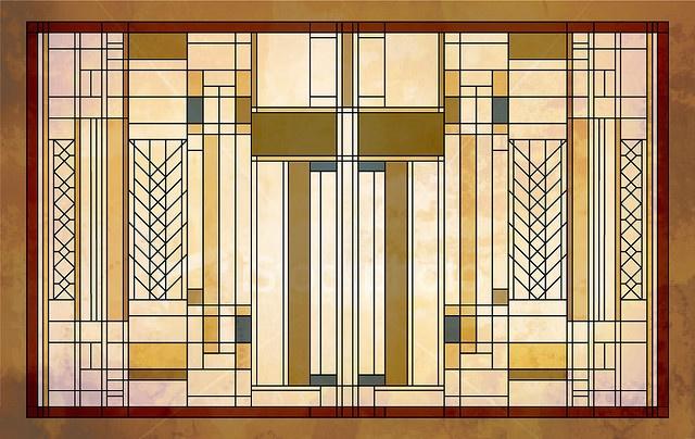 Flw Inspired Piece Doors Windows Stairs Pinterest